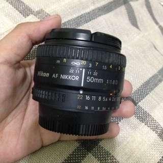 50mm Nikon Lens