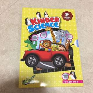 Science adventures kinder science magazines(6 in a set)