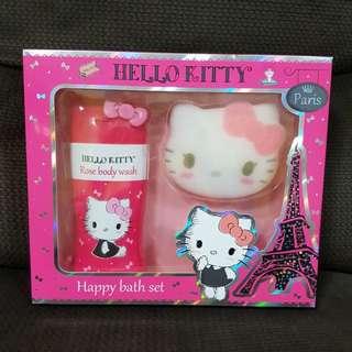 BN Hello Kitty bath set