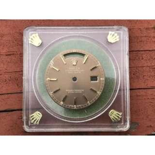 Rolex 18038 18238 brown dial rare
