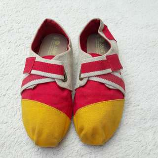 J&M Flatshoes Kanvas