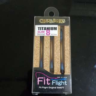 Cosmo fit titaniun shaft size 8