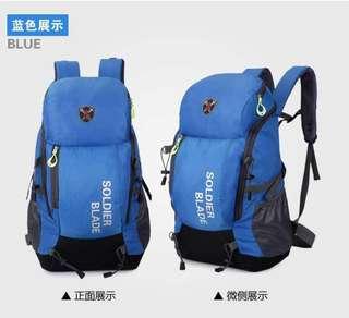 TRAVELLING BACK PACK - BLUE