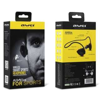 AWEI A840BL Sport IPX4 In-Ear Headset Earphone 運動藍牙耳機 Support NFC for Smartphones For iPhone