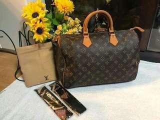 Louis Vuitton Speedy 35 Mono