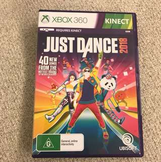 Just dance 2018 for xbox360