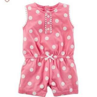 [Brand New] Carters Polka Dots Romper