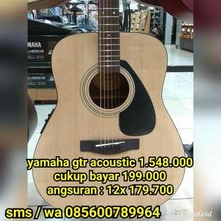 Gitar Accoustic Yamaha Fx 310 | Bisa Cicilan Cukup Bayar Admin Saja