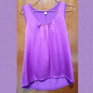 Uniqlo Purple Sleeveless Top