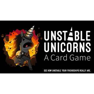 Buying > Unstable Unicorns Kickstarter Full Set