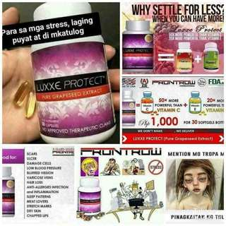 Luxxe protect grape seeds 30 capsules