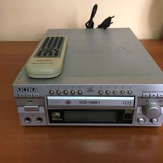 Vcd player with remote