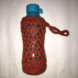 Handmade bottle holder