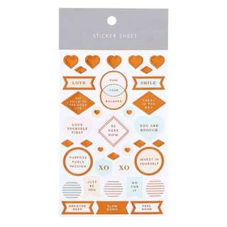 New Kikki.k Sticker Sheet