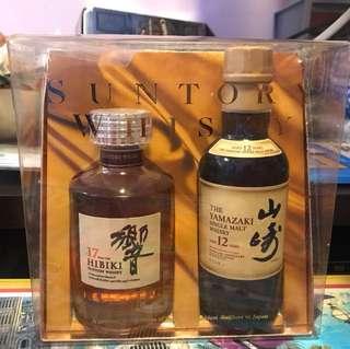 日本🇯🇵響17年 + 山崎12年 180ml