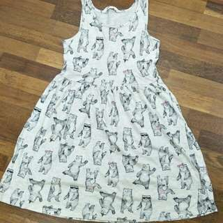 Dress bear bear 9-10yrs