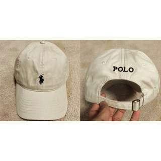 INSTOCKS Polo Ralph Lauren Cream Baseball Cap