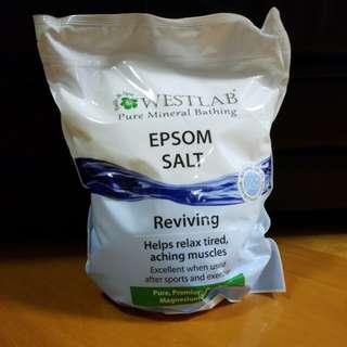 Westlab epsom salt 純天然浴鹽 手工皂材料