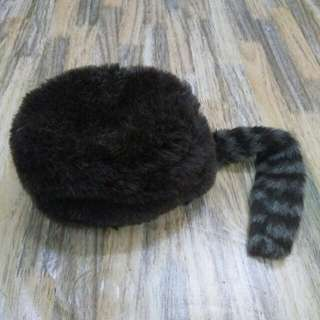 Topi HUNTING RACOON TAIL Hat Cap