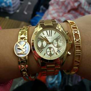 Micheal kors watch set