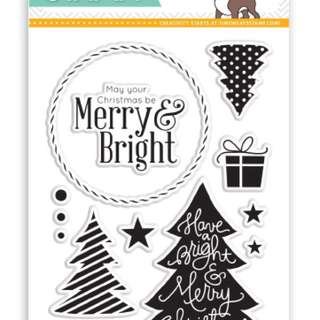 Simon Says Stamp Merry Trees Clear Stamp Set