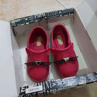 Mini Melissa IT Hot Pink Baby Sandals Shoes Toddlers Kids