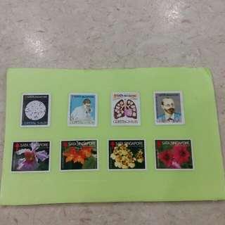 Singapore SATA mint stamps