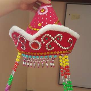 Chinese costume hat