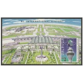 Malaysia 1998 Opening of Kuala Lumpur International Airport MS mint MNH SG #MS688