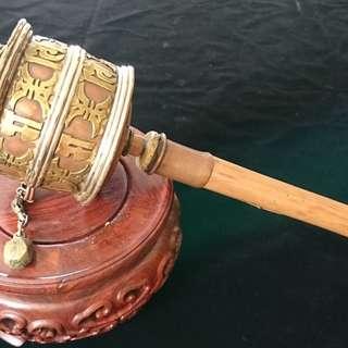 Old & Big Tibetan Prayer Wheel