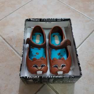 Mini Melissa Chipmunk Baby Sandals Shoes Toddlers Kids