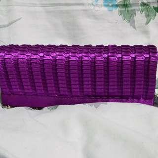 Iconic Purple Purse