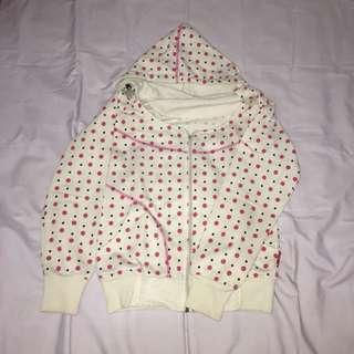 Jacket hoodie white