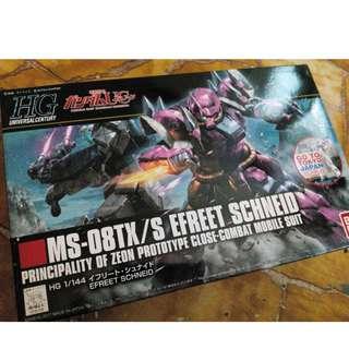 Gundam HGUC MS-08TX/S Efreet Schneid Unbuilt