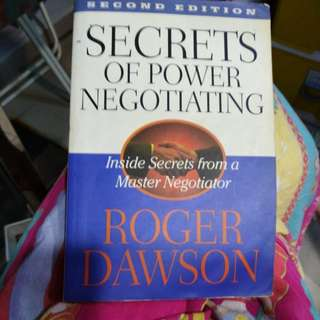 Secrets of Powers Negotiating
