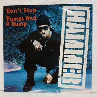Hammer - Don't Stop / Pumps & A Bump Vinyl Record