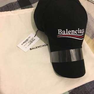 Balenciaga embroidered logo cap ss18