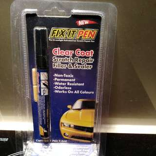 CAR SCRATCH REPAIR FILLER&SEALER (CLEAR COAT)