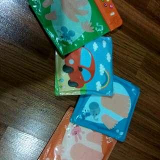 Playmat 4 pcs kecil dari Japan