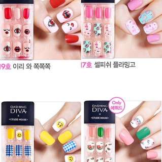 PRE-ORDER: Dashing Diva x Etude House Press On Nails