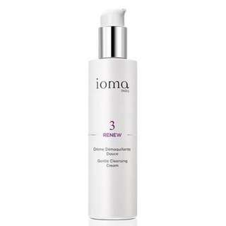 Ioma gentle cleansing cream 200ml - anti-aging cleanser and makeup remover