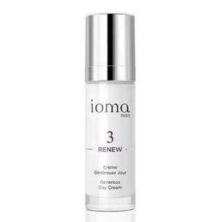 Ioma generous day cream 30ml - Anti-aging moisturiser