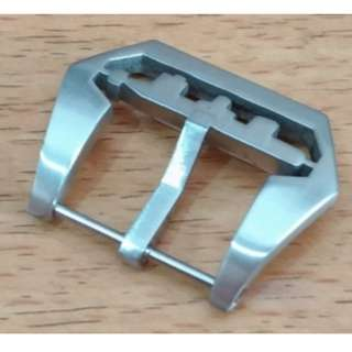 Pin Buckle Clasp Jam Tangan PAM Panerai Submarine Stainless Brushed
