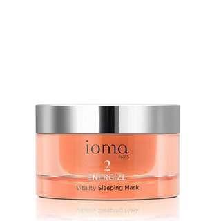 Ioma vitality sleeping mask - radiance and anti aging mask