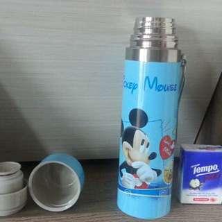 全新 迪士尼米奇500ml 保溫壼 Disney mickey mug