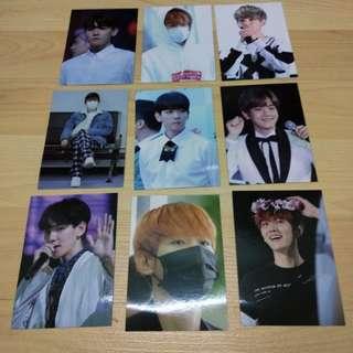 EXO Baekhyun Photocard Set 2