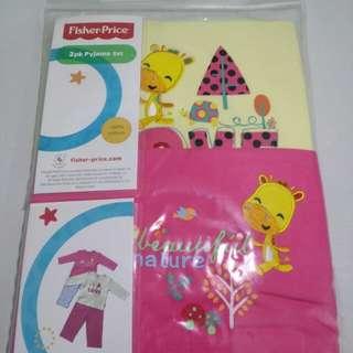 Fisher Price Original PJset 2pcs per pack