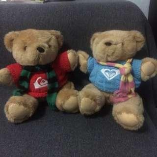 Quicksilver And Roxy Teddybear