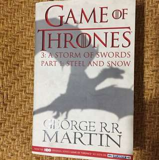 Game of Thrones 3: A storm of swords (Part 1)