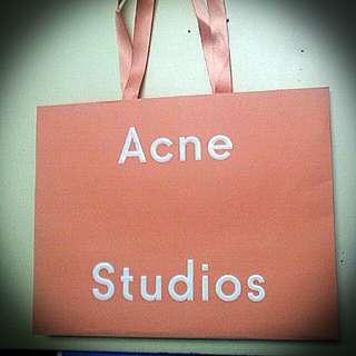 Acne Beautiful Paper bag